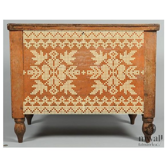 Hímes leveles - MyWall stencilcsalád