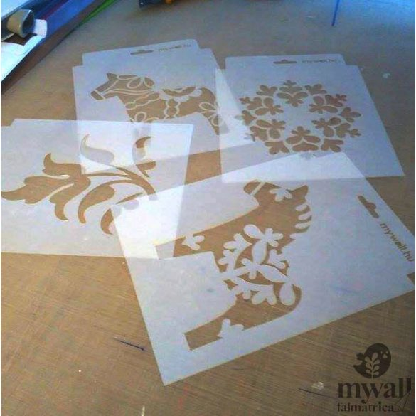 Meander - MyWall stencil
