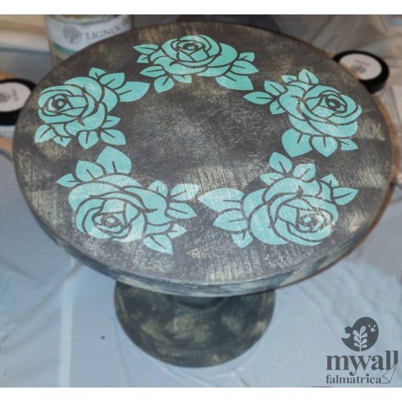 Rózsakert 01 - MyWall stencilkollekció