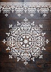 Mandala 04 MyWall stencilcsalád