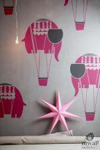 Elefánt-MyWall stencil