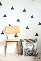 Háromszögek - MyWall falmatrica