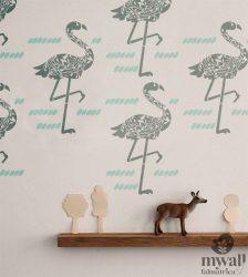 Flamingók - MyWall stencil