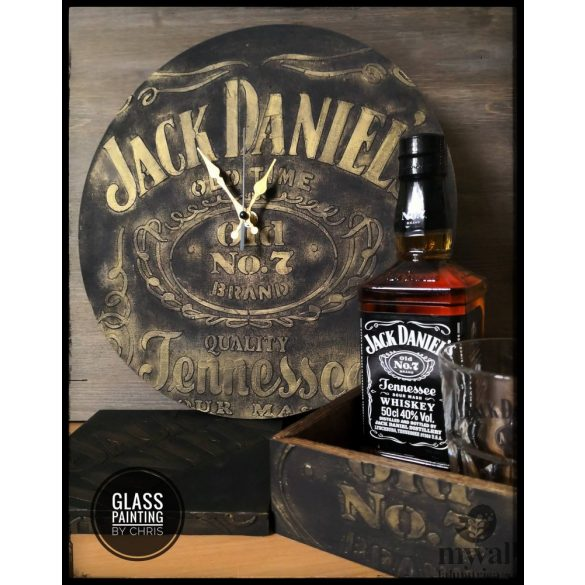 I love JD - MyWall stencil
