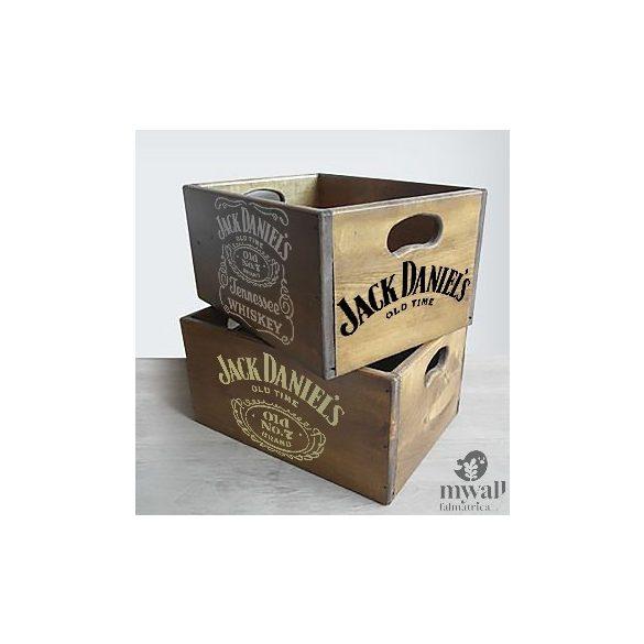 I love JD - MyWall stencil