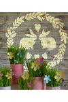 Húsvét - Mywall stencilcsalád
