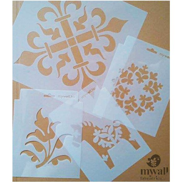 Kalász - MyWall stencil