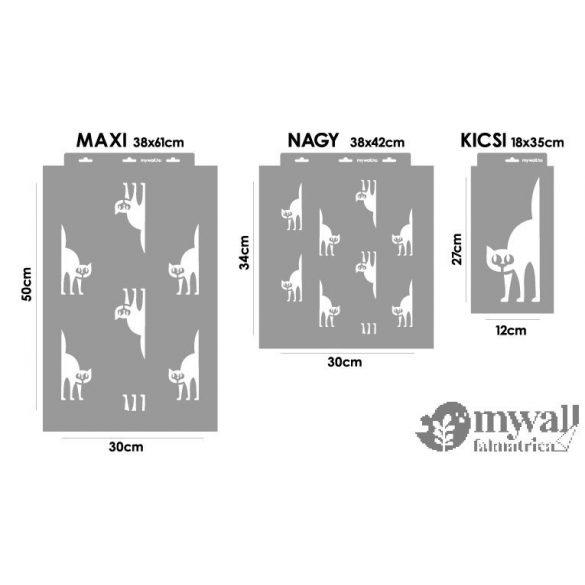 Cicamánia - Mywall stencilcsalád