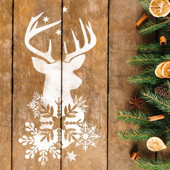 Szarvas 04 - MyWall stencil