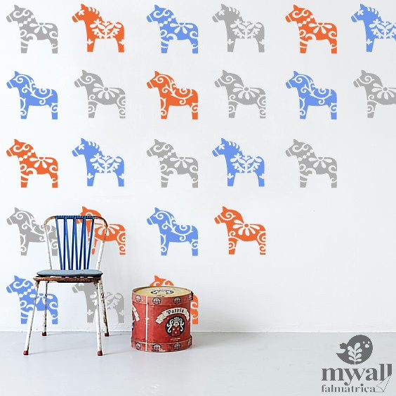 DALA lovacskák - Mywall stencil