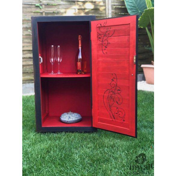 Rózsakert 01 - MyWall stencilcsalád