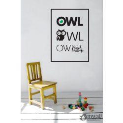 Owl - Poszter-falmatrica