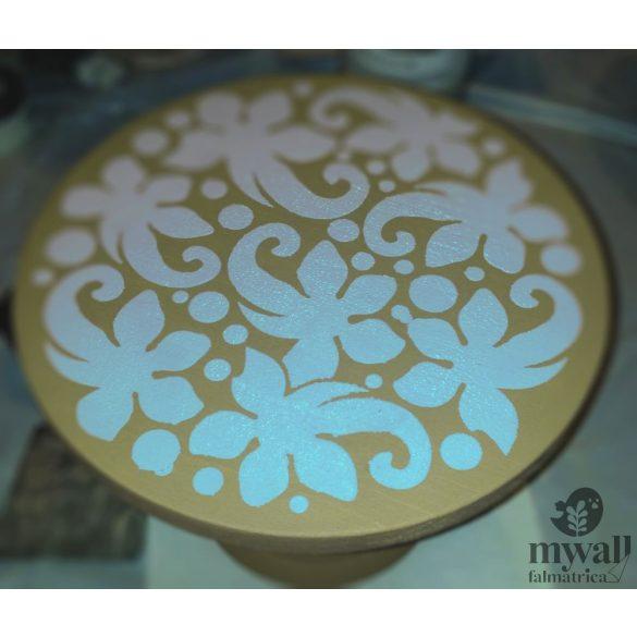 Csipke gömb - Mywall stencilcsalád