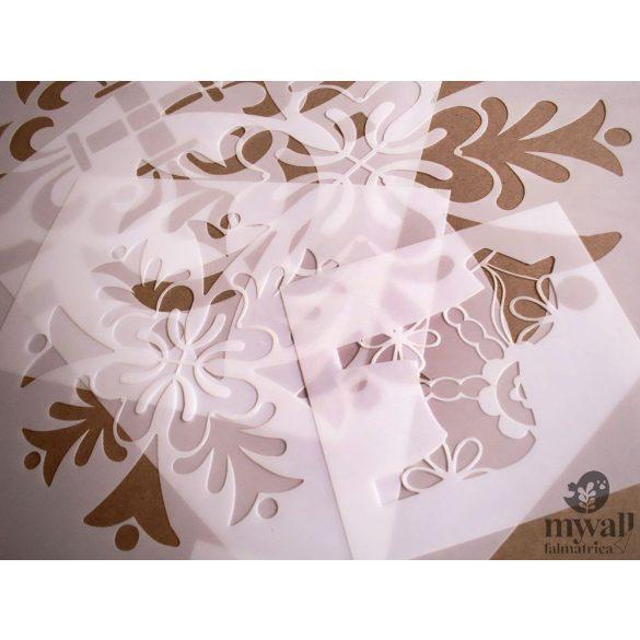 Kaleidoszkóp - MyWall stencil
