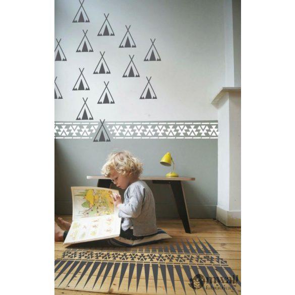 Indián szett - Mywall stencilcsalád